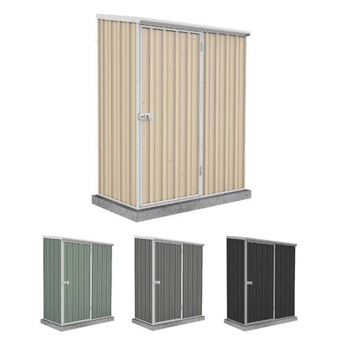 Absco Space Saver Shed 1 52m X 0 78m