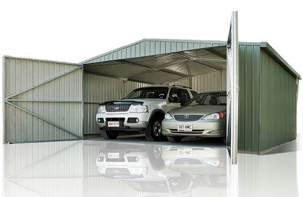 absco garage double barn door