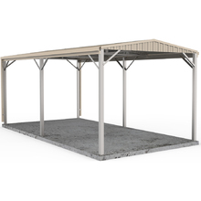 Carport 3m x 6m W50 in Classic Cream