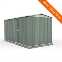 Factory Special - Absco Highlander Shed 4.5m x 2.26m in Pale Eucalypt
