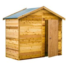 Cedar Shed Interlock Stafford 2.5m x 1.2m x 2.44m