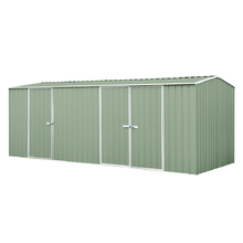 Eco Range Garden Shed 5.22m x 2.26m in Green