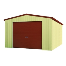 Spanbilt Smartbild Single Garage 4m x 6m x 2.4m Zinc