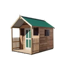 Cedar Shed Tudor Supreme 1.8m x 2.55m x 2.3m-Incl 750mm Deck