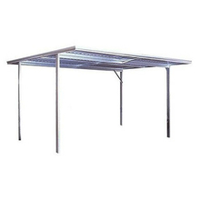 Spanbilt YardPro Single Carport Flat Roof 3m x 5.5m x 2.4m Colour