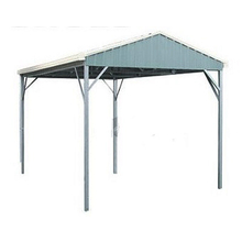 Spanbilt YardPro Single Carport Gable Roof 3m x 5.4m x 2.4m Zinc
