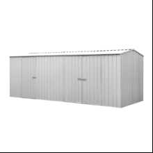 Eco Range Garden Shed 5.22m x2.26m in Zinc