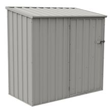 Absco Economy Shed 1.52m x 0.78m x 1.5m  in Zinc