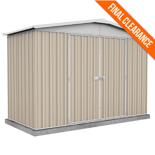 Factory Clearance - 3m x 1.44m Garden Shed in Beige