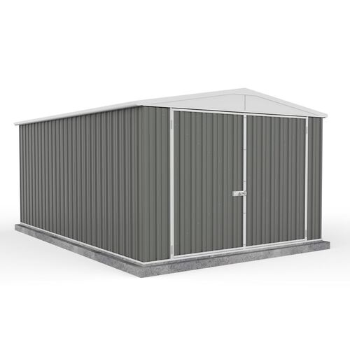 Eco Range Garden Shed 3m x 4.48m in Grey
