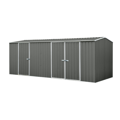 Eco Range Garden Shed 5.22m x 2.26m in Grey