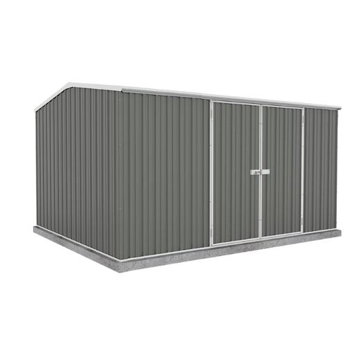 Eco Range Garden Shed 3.74m x 1.52m in Grey