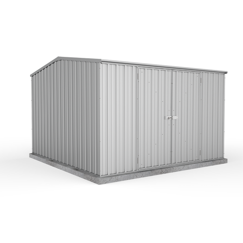 Eco Range Garden Shed 3.0m x 3.0m in Zinc